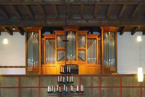 Die Orgel der Thomaskirche